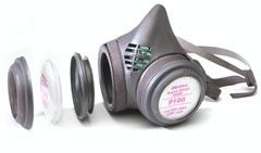 Moldex 8000 Half Mask Respirator with P100 Filter