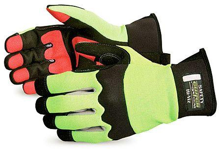 Oilfield Mechanics Gloves with Hi Vis Backs - Superior MXHV