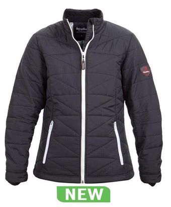 RefrigiWear Cold Weather Apparel - Women's Fitted Quilted Jacket 0423