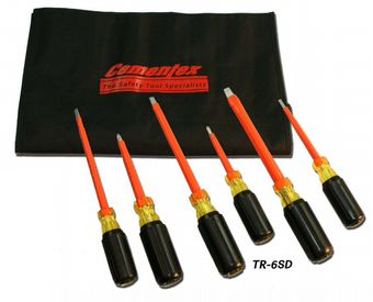 Cementex TR-4MSD Insulated Precision Screwdriver Roll, 4PC