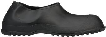 Tingley 35111 Heavy Duty PVC Overshoes - Ankle High Black Side