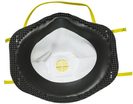3M Particulate Respirator 8211 - N95 Back