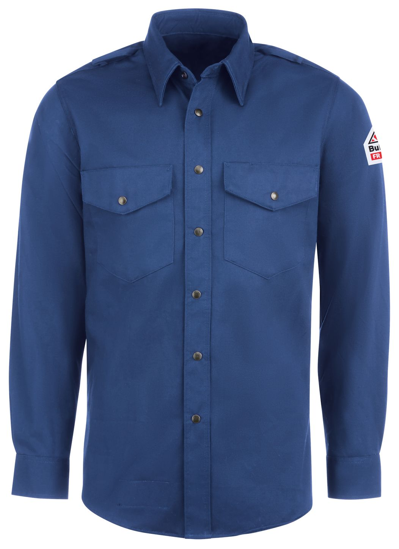 bulwark-fr-shirt-ses2-midweight-excel-snap-front-uniform-royal-blue-front.jpg
