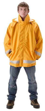 nasco mp3 yellow flash fire arc rated breathable rain jacket