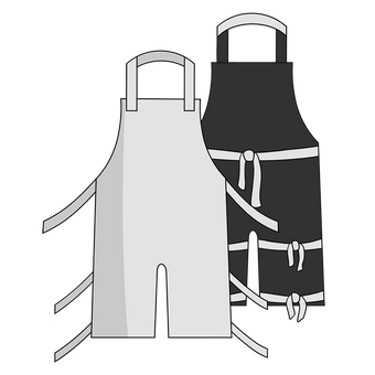 Otterlayer aluminized apron A22-ACF