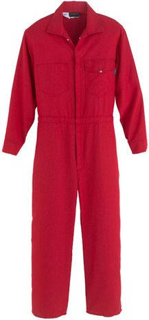 Workrite Nomex IIIA FR Coveralls 112NX60RD in Red