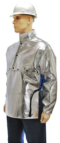 Otterlayer aluminized cape sleeve side detail SLB-ACF