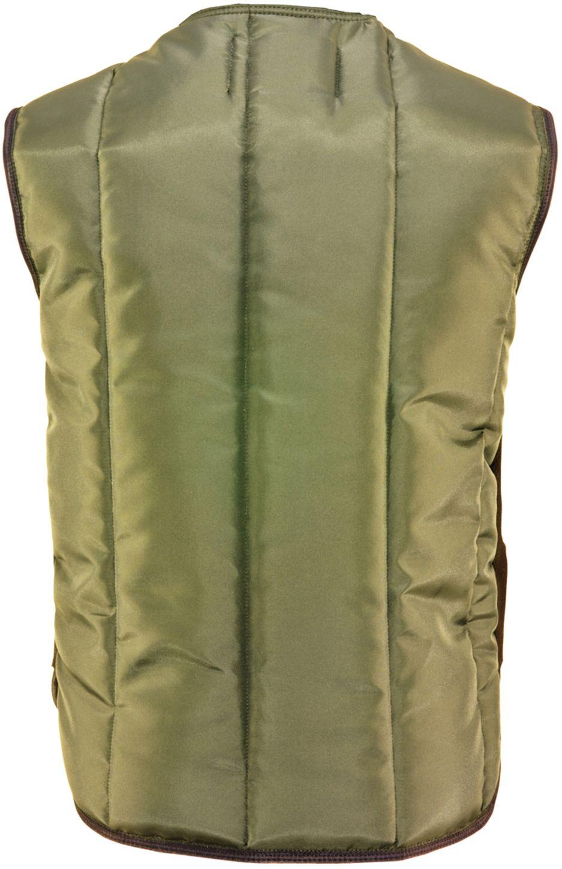 RefrigiWear 0399 Iron-Tuff Insulated Work Vest Sage Back