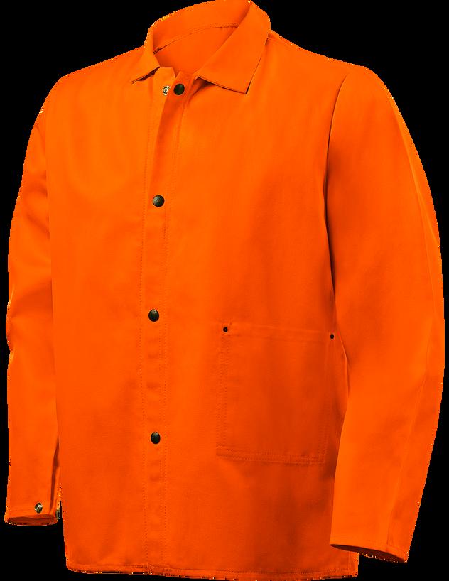 """Steiner Weldlite Flame Retardant Jacket Cotton 30"""" 1040 Front"""