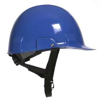 Bullard A2 High Impact Polycarbonate Alloy Ratchet Blue Hard Hat