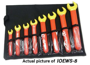 Cementex IOEWS-6 Insulated Open End Wrench Kit, 6PC