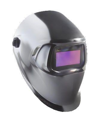 3M 07-0012-31CH Chrome Auto-Darkening Welder Helmet