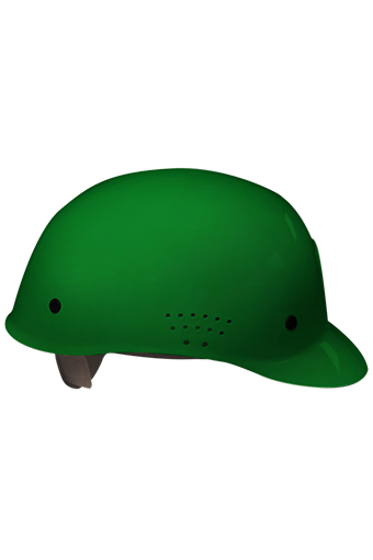 occunomix-v450-traditional-bump-cap-green