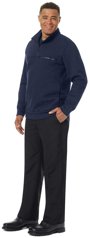 workrite-fr-job-shirt-ft71-1-4-zip-navy-example-left.jpg