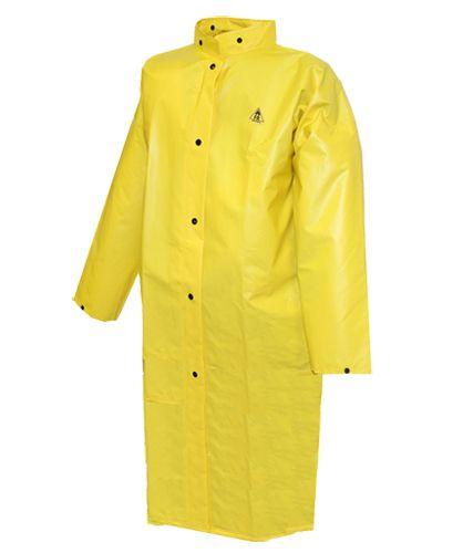 "Tingley DuraScrim Flame Resistant Coat C56207 - Yellow, 48"""