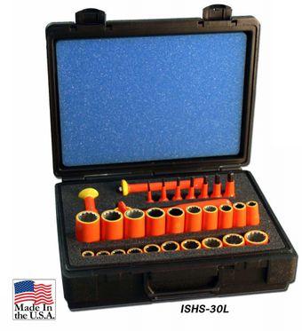 Cementex ISHS-30L Insulated Socket Hex Kit, 30PC