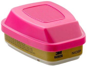 3M 60926 Multi-Gas Respirator Cartridges with P100 Filter