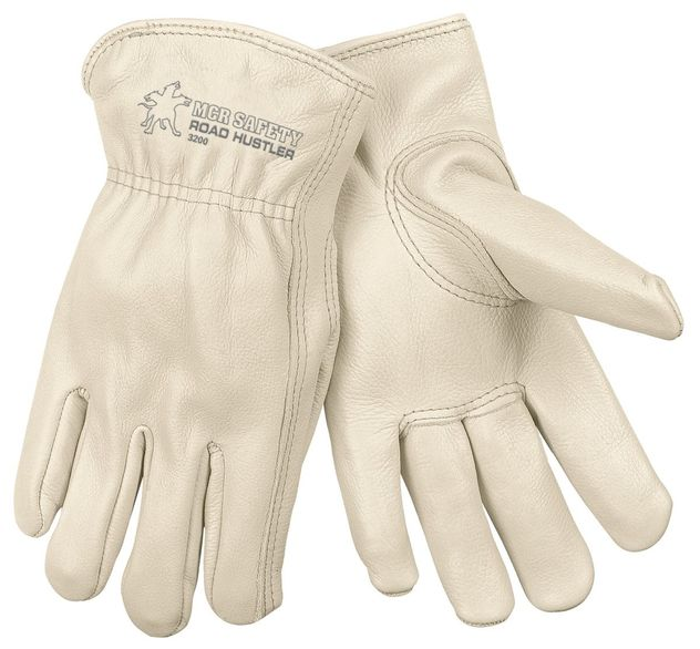 MCR Safety Road Hustler Leather Driver Glove 3200 - Premium Cow Grain