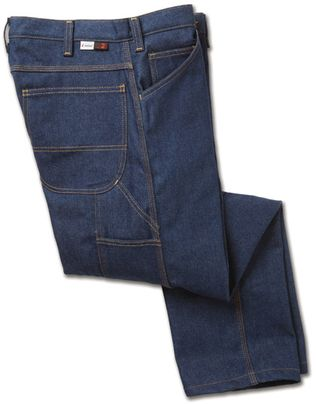 Workrite Fire Resistant Carpenter Jeans 496ID12, Indura