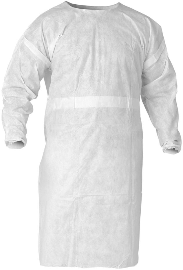 Kimberly Clark Kleenguard Breathable White Smock A20