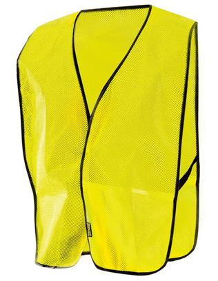 Occunomix LUX-XNTM Hi-Viz Mesh Vest, NON-ANSI Yellow Front
