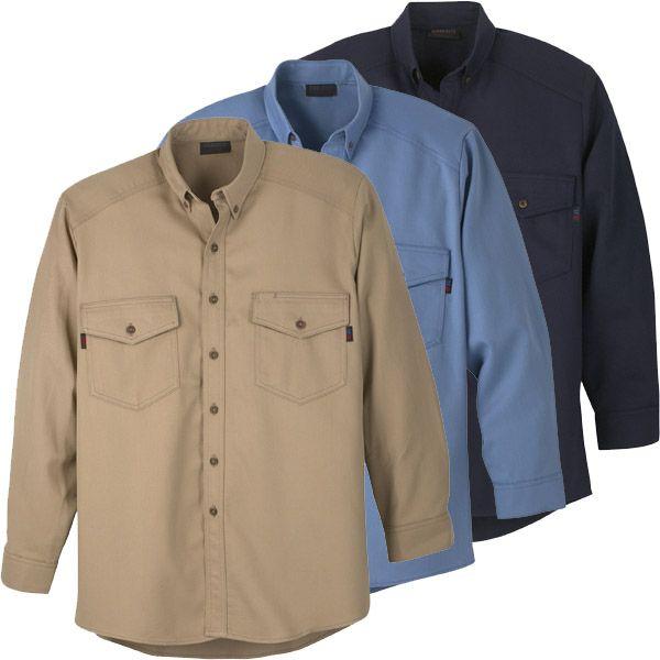 Workrite Arc Flash Shirts 288UT70/2887 - 7 oz UltraSoft, Long Sleeve, Utility