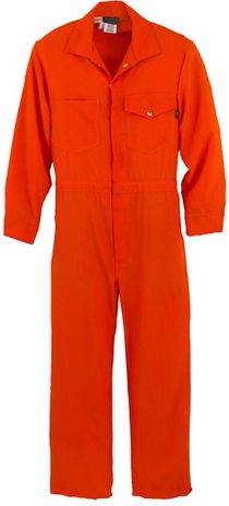 Workrite 112NX60OR Orange Fire Resistant Coverall