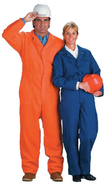Chicago Protective 605-NMX-4.5 Fire Resistant Nomex Coveralls, 4.5 Oz