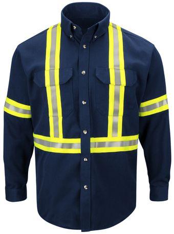bulwark-fr-shirt-sluc-midweight-enhanced-visibility-uniform-reflective-trim-navy-front.jpg