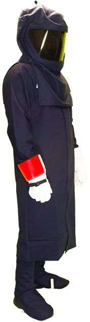 Chicago Protective 32 Cal Arc Flash Suit with Long Coat