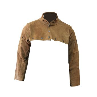 chicago-protective-apparel-rust-split-leather-welding-cape-sleeve-577-cl.jpg