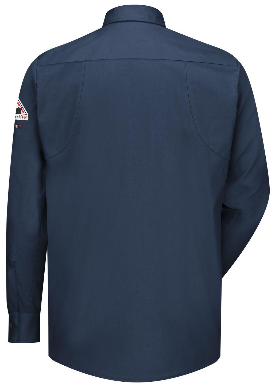 bulwark-fr-shirt-qs32-iq-series-comfort-woven-long-sleeve-patch-pocket-dark-blue-back.jpg