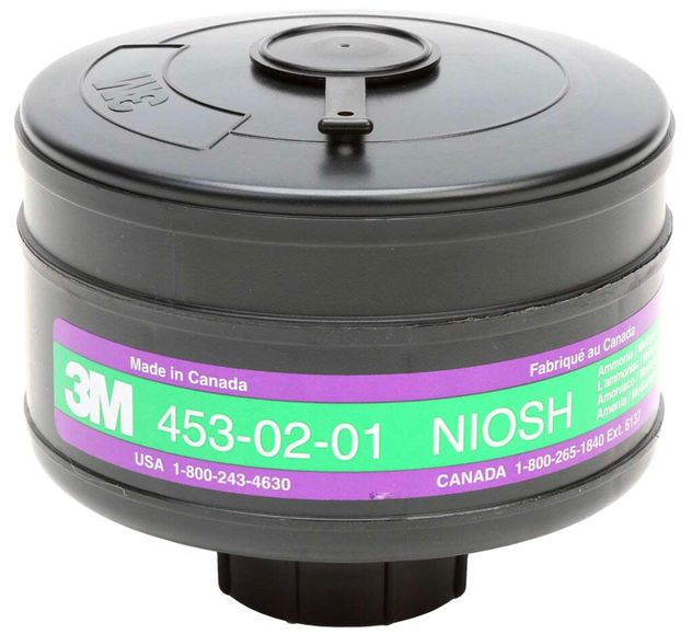 3M Breathe Easy PAPR - Ammonia - Methylamine - HE Cartridge KP3
