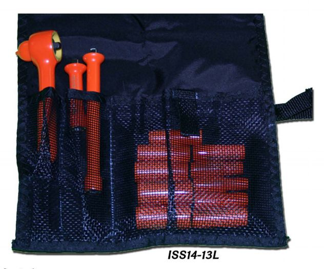 """Cementex ISS14-13L Insulated 1/4"""" Square Drive Kit, 13PC"""