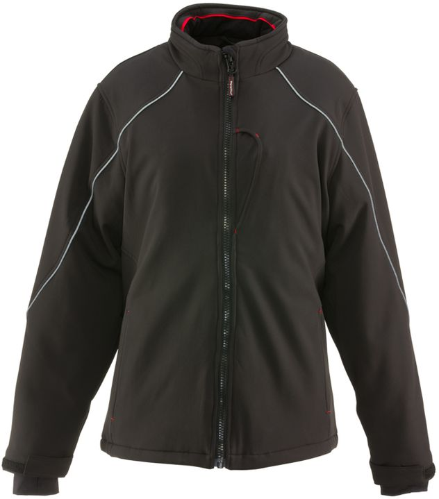 RefrigiWear 0493 Softshell Womens Winter Work Jacket Front