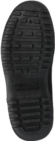 Tingley 35111 Heavy Duty PVC Overshoes - Ankle High Black Sole