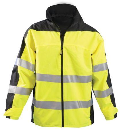 Occunomix SP-BRJ Hi-Viz Breathable Rain Jacket, Class 3 Front