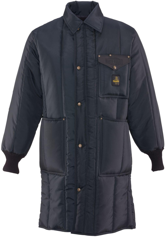 RefrigiWear 0341 Iron-Tuff Inspector Insulated Work Coat Knee Length Front