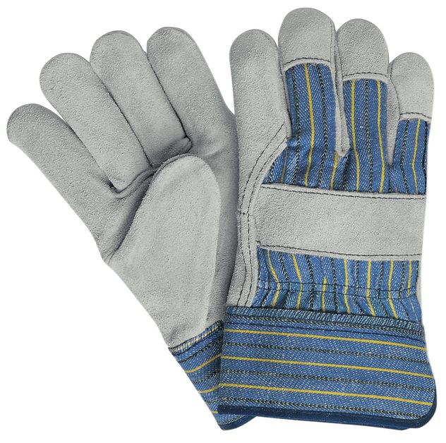 MCR Safety Gloves 1400A Select Split Leather Palm with Safety Cuffs