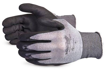 Oil Resistant Nitrile Coated Safety Gloves Superior S13PNT