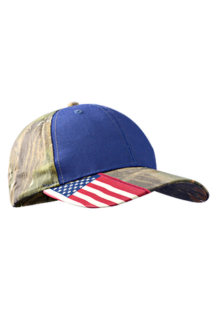 Occunomix SH300 Flag Accented Ball Cap Navy Front