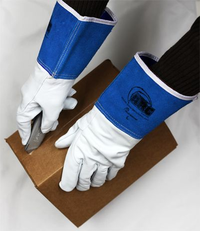 Superior Precision Cut Resistant Mig Tig Welding Gloves 370GFKL - Cutting