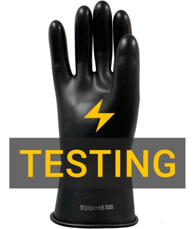 Rubber Electrical Glove Testing Certification 3
