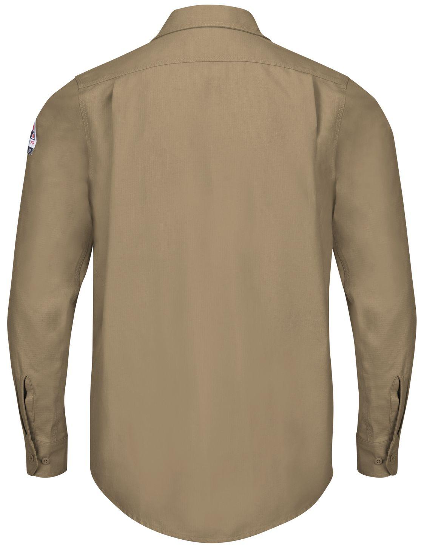 bulwark-fr-shirt-qs40-iq-series-endurance-work-shirt-khaki-back.jpg