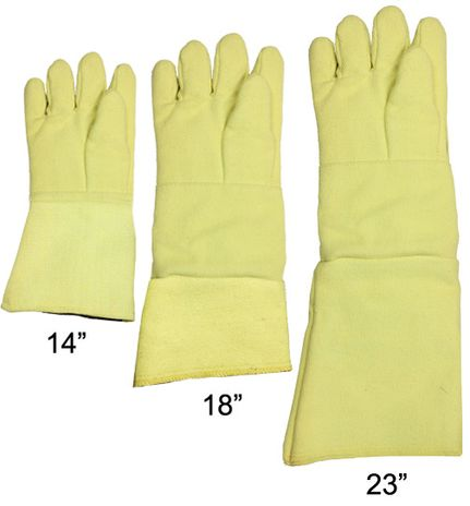 Chicago Protective High Heat Foundry Glove in Different Lenghts
