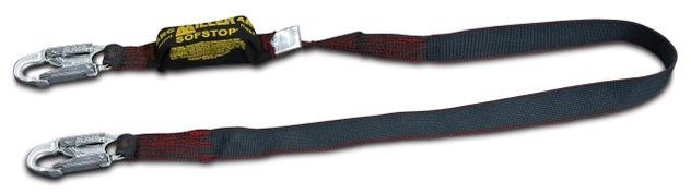 Miller 913K/6FTBK Single-Leg Arc-Rated Shock-Absorbing Lanyard