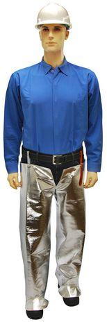 Otterlayer aluminized leggings hip front full height LV4-ACF