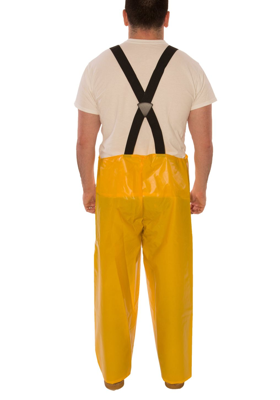 Tingley Iron Eagle® 022007 Chemical Resistant Overalls - Polyurethane Coated Yellow Back