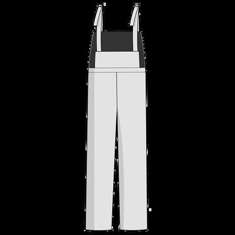 Otterlayer aluminized bib overalls PB1-ACF