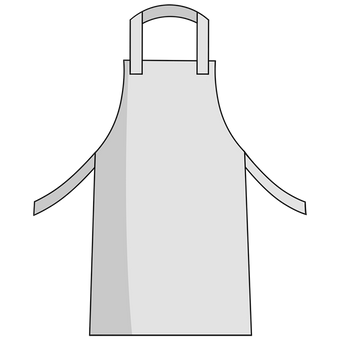 Otterlayer aluminized apron A21-ACF